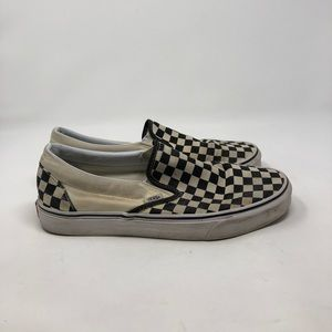 Vans Shoes - Vans Checkered Slip On. Men's 10.5